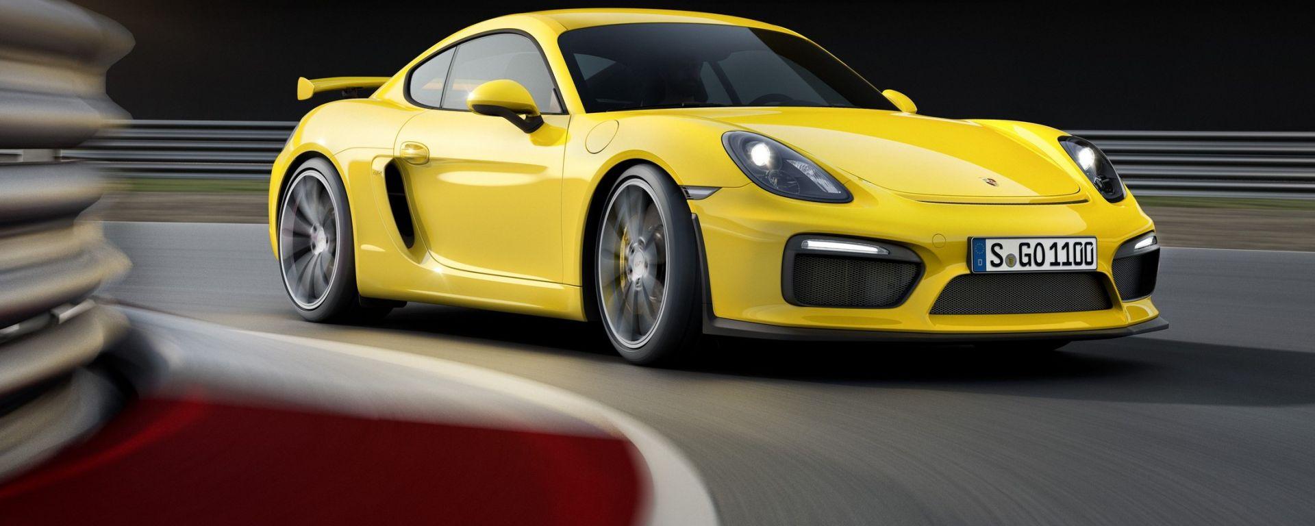 Porsche Cayman GT4 2018 avrà 6 cilindri aspirato e manuale