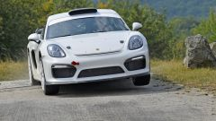 Porsche Cayman GT4 Clubsport Rally Concept pronta al debutto - Immagine: 1