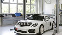Porsche Cayman GT4 Clubsport Rally Concept pronta al debutto - Immagine: 5