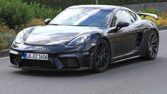 Porsche Cayman GT4: rumors e prime foto spia del facelift - Immagine: 1