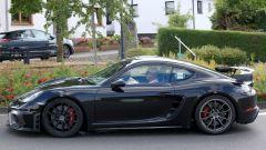 Porsche Cayman GT4: rumors e prime foto spia del facelift - Immagine: 5