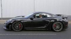 Porsche Cayman GT4: rumors e prime foto spia del facelift - Immagine: 12