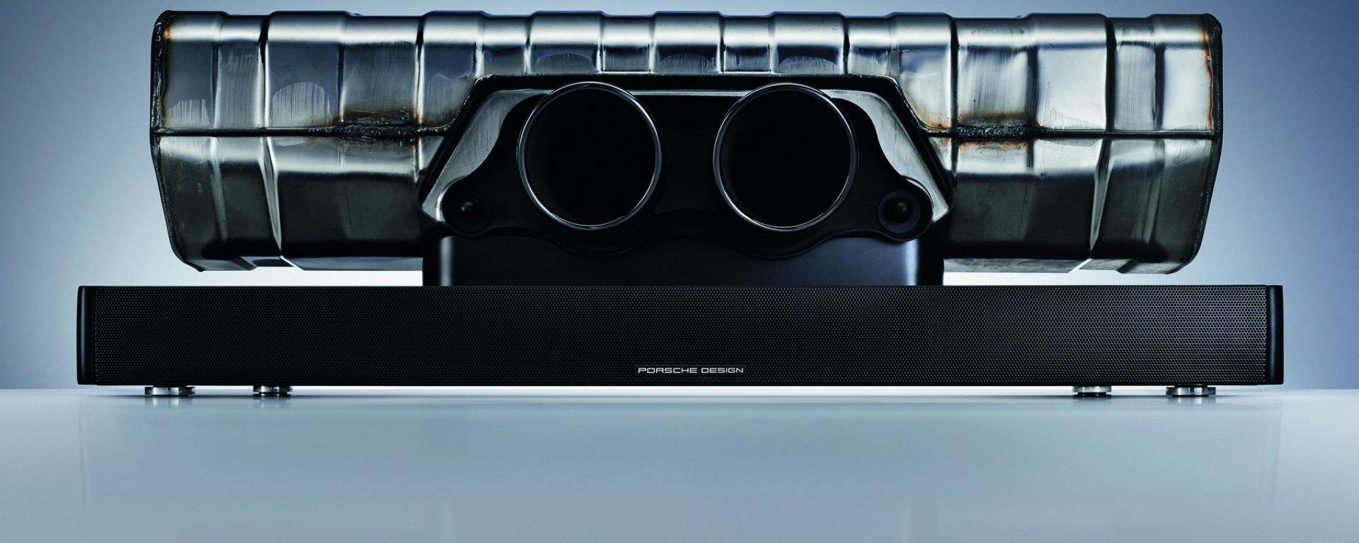 Porsche Design 911 Soundbar: il 2.1 fatto coi pezzi della GT3