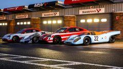 Porsche di oggi e di ieri a Brands Hatch