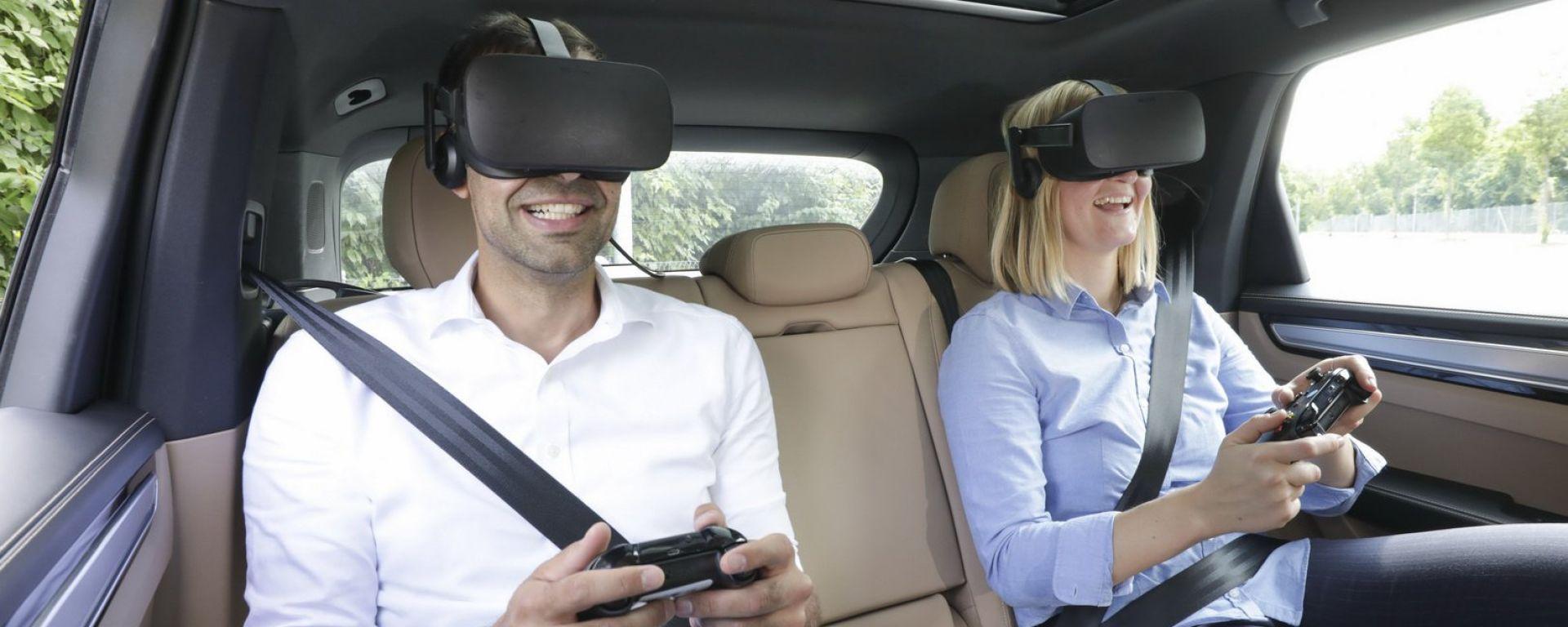Porsche e Holoride insieme per sistemi VR a bordo