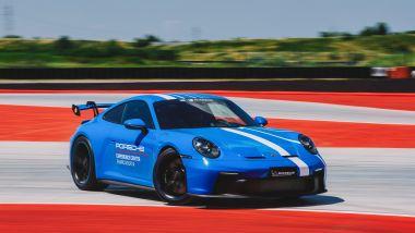 Porsche Experience Center Franciacorta permette di fare anche esperienze di drift