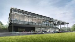 Porsche Experience Center: un rendering del Porsche Experience Center in Giappone