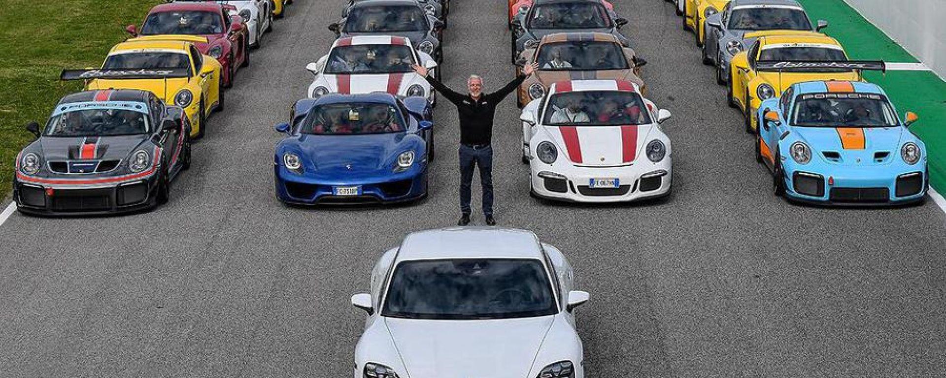 Porsche Festrival 2019: 1.142 auto, oltre 500.000 cv nell'edizione dei record