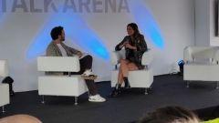 Porsche Festrival 2019: l'area Talk con Bocci e Federica Masolin