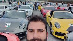 Porsche Festrival 2019: le Porsche in attesa della parata