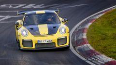 Porsche GT2 RS durante il record al Nurburgring