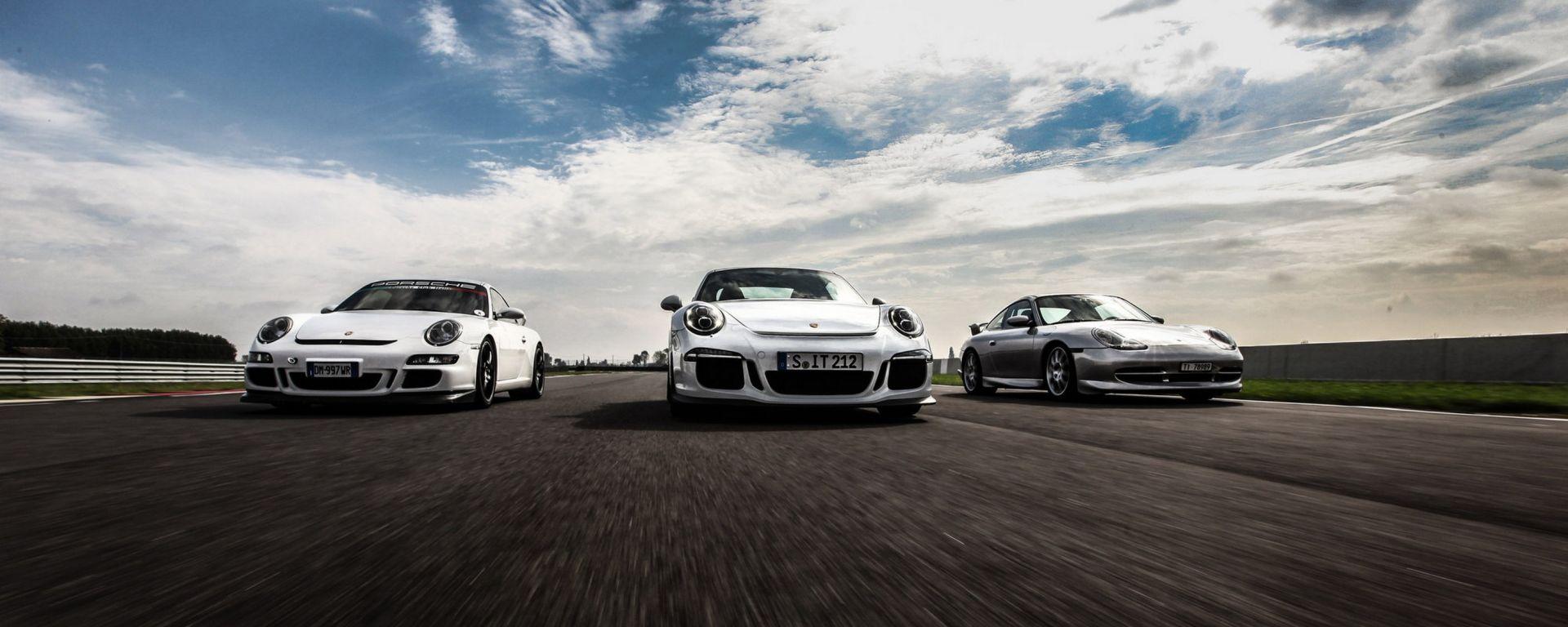 Porsche GT3: 996 vs 997 vs 991