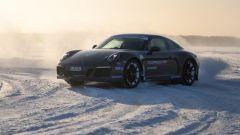 Porsche Ice Experience Artic con le Porsche 911 GTS