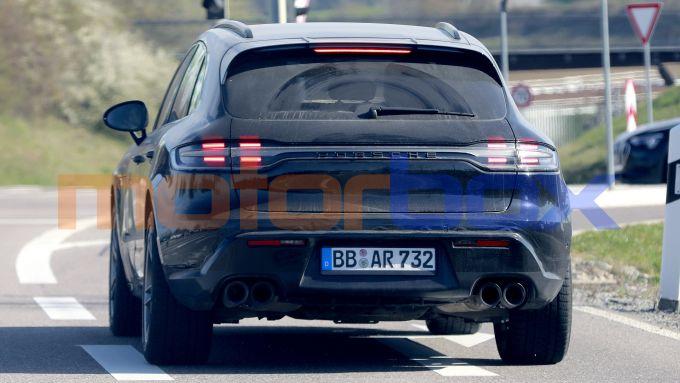 Porsche Macan 2021: posteriore