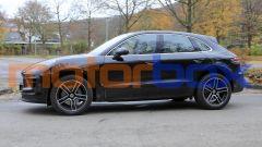 Porsche Macan 2021: visuale laterale