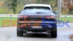 Porsche Macan 2021: visuale posteriore