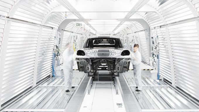 Porsche Macan, produzione