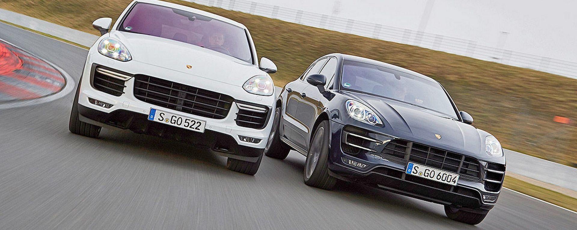 Porsche Macan S Diesel e Cayenne S Diesel, maxi richiamo per software illecito