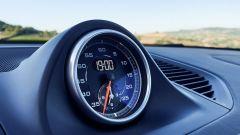 Porsche Macan Turbo 2020, il cronometro al centro della plancia