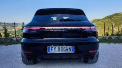 Porsche Macan Turbo 2020, il posteriore