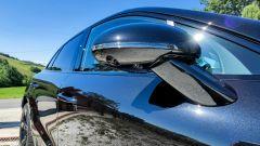 Porsche Macan Turbo 2020, lo specchio con ripetitore delle frecce integrato