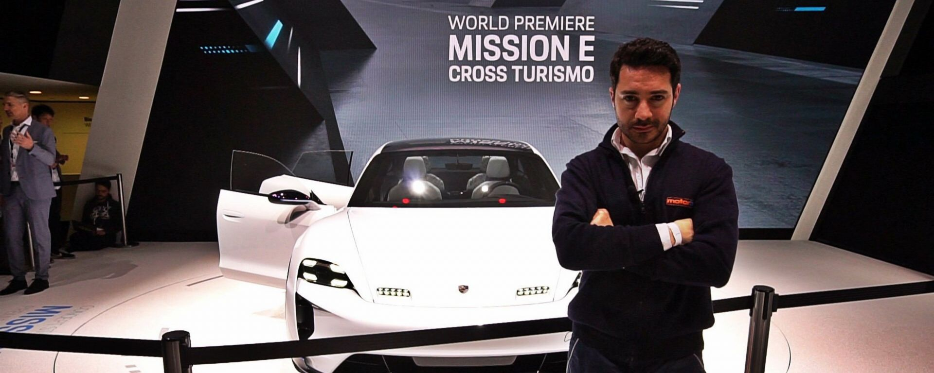 Porsche Mission E Cross Turismo Concept: in video dal Salone di Ginevra 2018