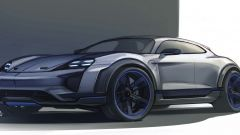 Porsche Mission E Cross Turismo Concept: in video dal Salone di Ginevra 2018 - Immagine: 9