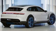Porsche Mission E Cross Turismo Concept: vista 3/4 posteriore