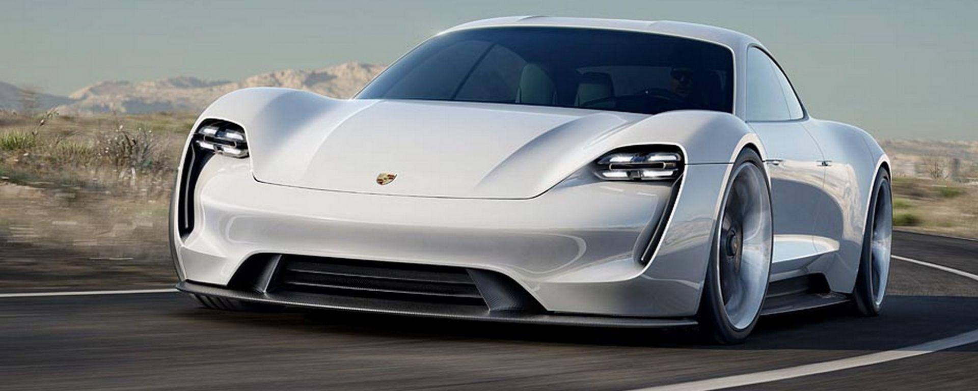 Porsche Mission E: l'elettrica punta in alto