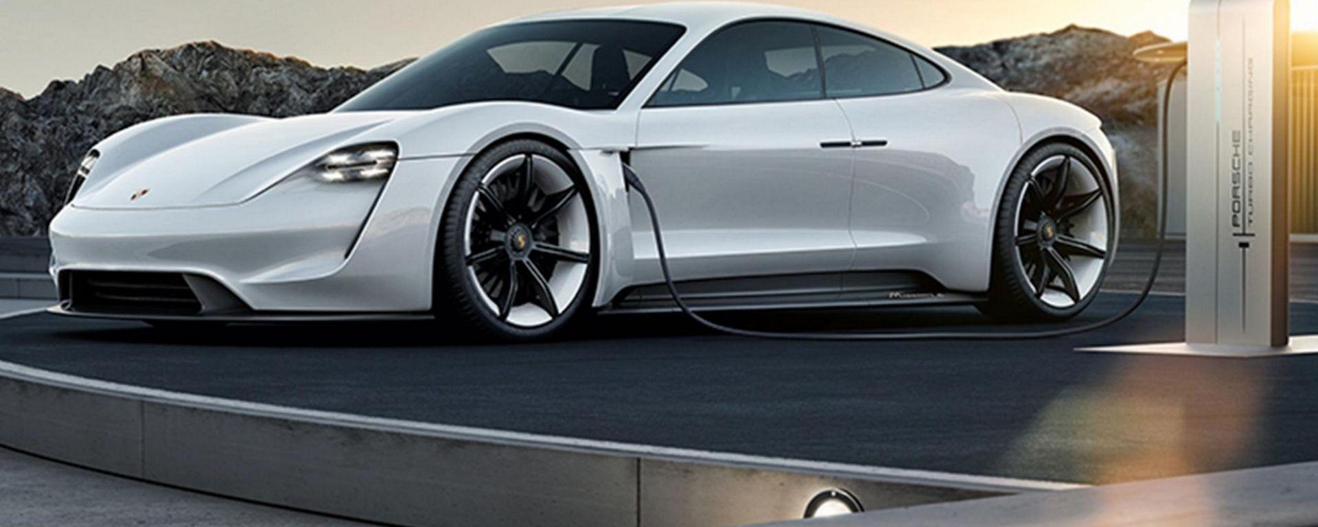 Porsche Mission E, la prima elettrica di Porsche