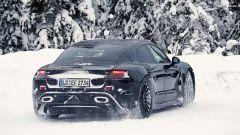 Porsche Mission E: vista del posteriore