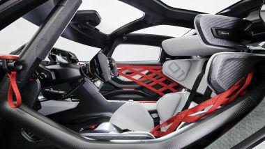 Porsche Mission R, gli interni