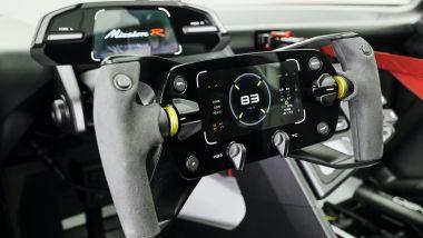 Porsche Mission R: il volante