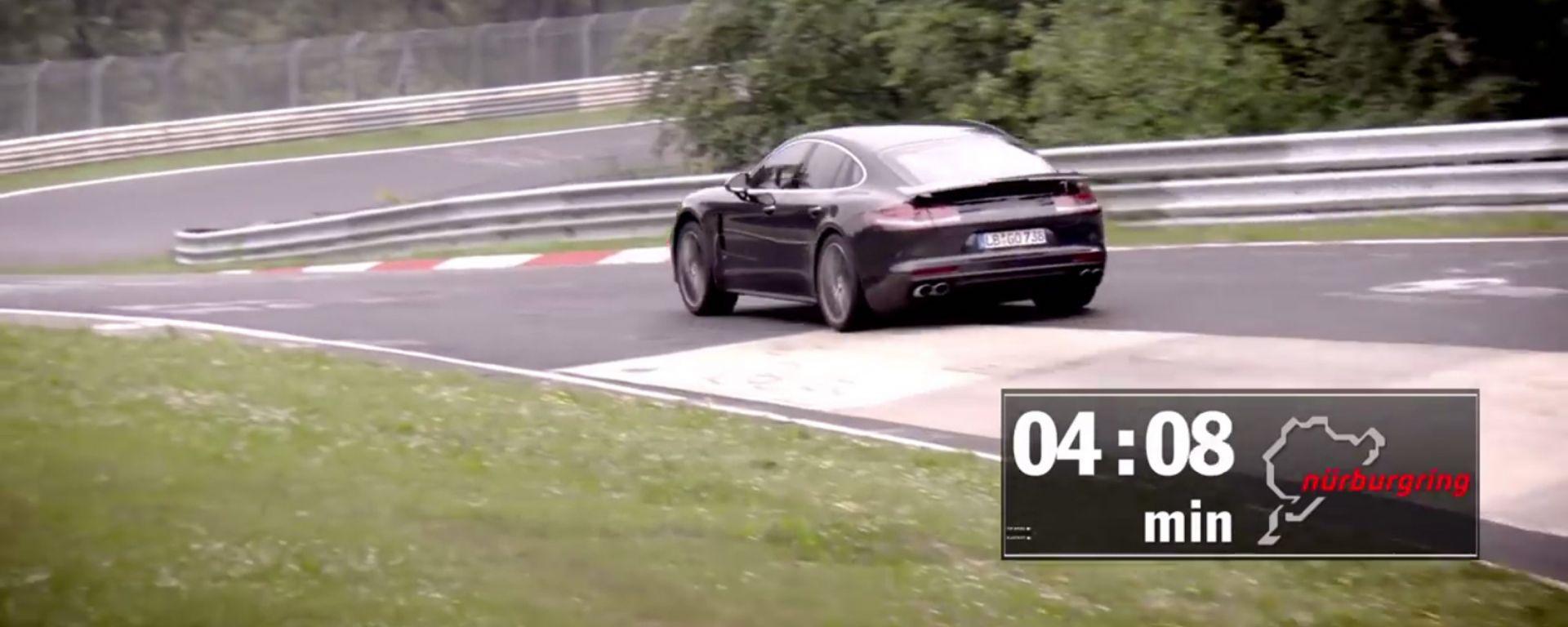 Porsche Panamera: al Nürburgring batte l'Alfa Romeo Giulia