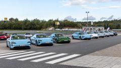 Porsche Panamera: la Taycan 100% elettrica