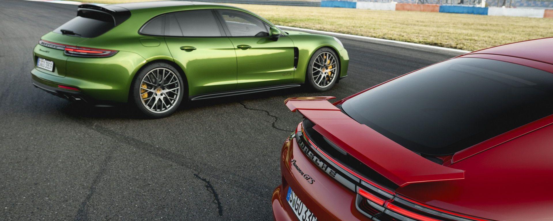 Porsche Panamera: l'auto tedesca con motori a combustione interna sarà ancora prodotta