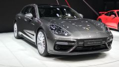 Porsche Panamera Sport Turismo, Salone di Ginevra 2017, vista frontale