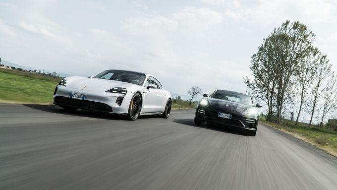 Porsche Panamera Turbo S vs Taycan Turbo S: due auto eccezionali per comfort e prestazioni