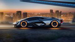 Porsche lavora alla supercar elettrica del futuro anteriore - Immagine: 3