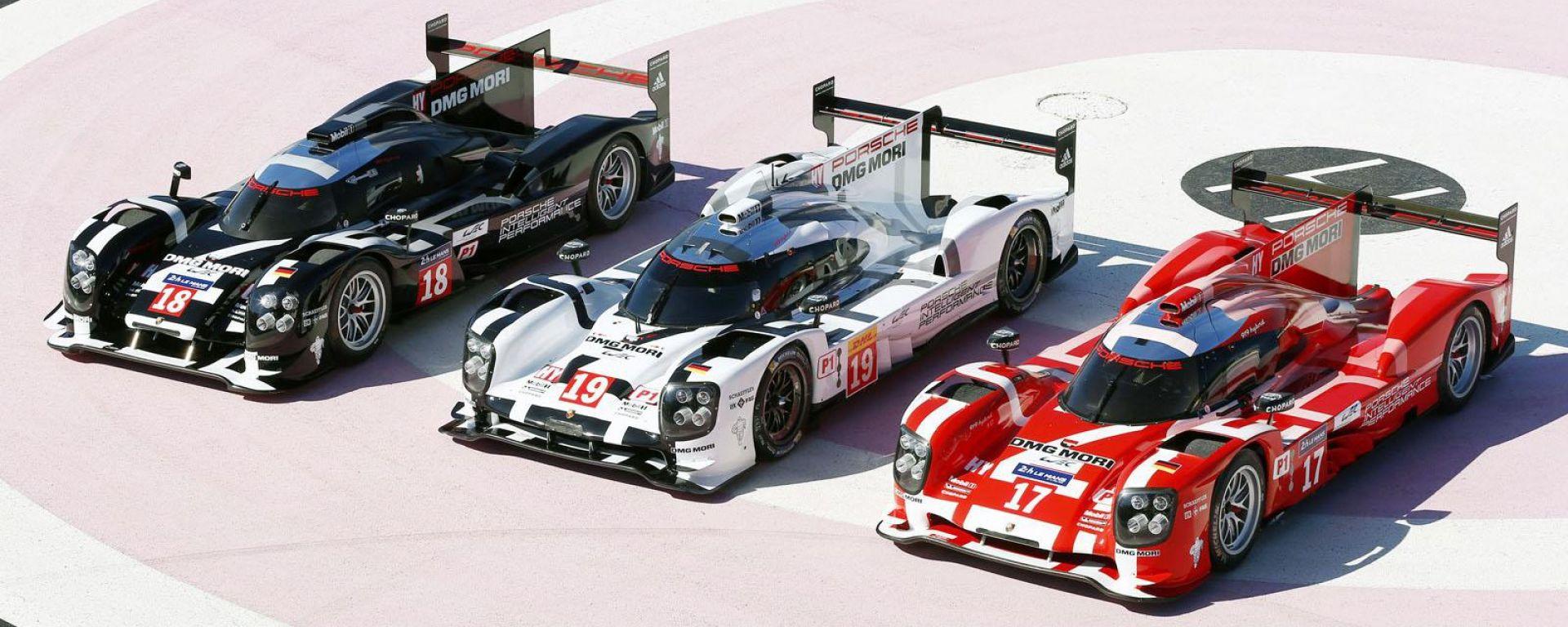 Porsche svela i colori per LeMans