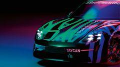 Porsche Taycan: le ultime foto. Già pronta per Francoforte? - Immagine: 11