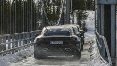 Porsche Taycan: le ultime foto. Già pronta per Francoforte? - Immagine: 10