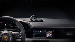 Porsche Taycan 2019: gli interni