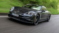 Porsche Taycan 2019: vista frontale