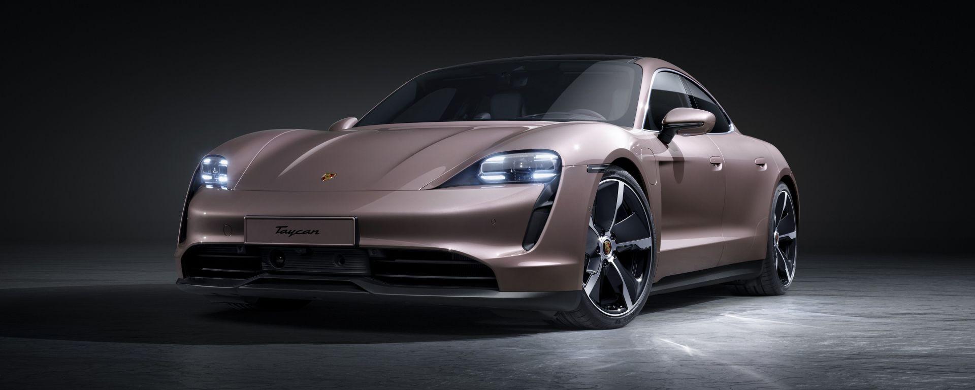 Porsche Taycan 2021: arriva l'entry level con trazione posteriore