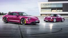 Porsche Taycan e Porsche Taycan Cross Turismo: le novità 2022