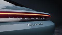 Porsche Taycan 4S, il posteriore