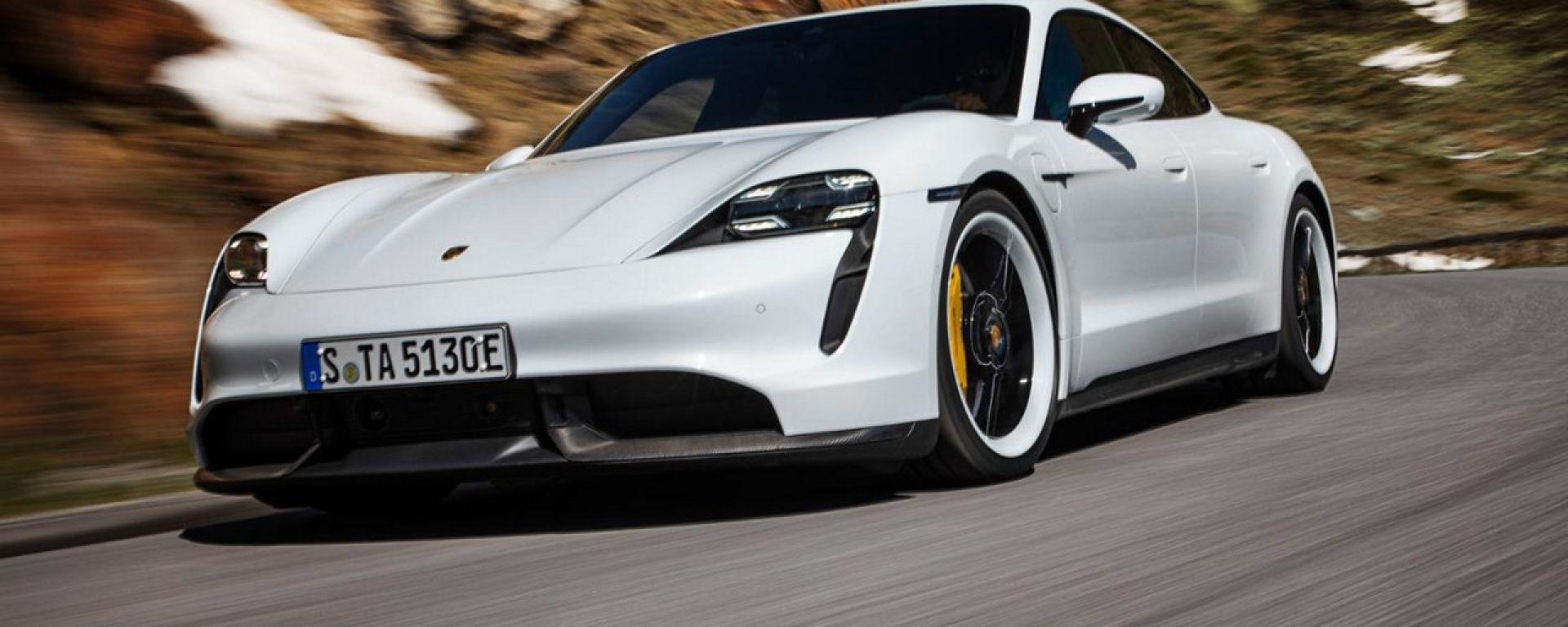 Porsche Taycan: arrivano la Turno e la Turbo S