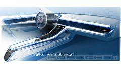Porsche Taycan, bozza interni 1