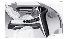 Porsche Taycan, bozza interni 3